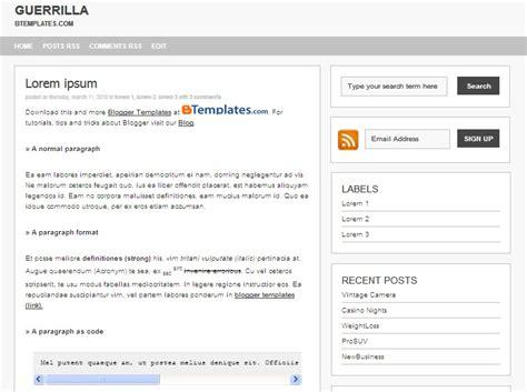 template minimalis template minimalist free