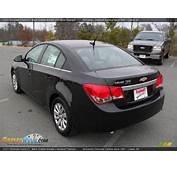 2011 Chevrolet Cruze LT Black Granite Metallic / Medium