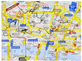 reliable index image london walking map