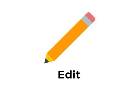 edit icon free at icons8