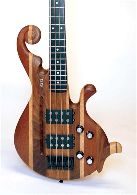 Handmade Bass Guitars - wallpusher handmade custom bass guitars