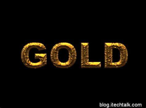 gold lettering tutorial photoshop gold text photoshop tutorials psddude