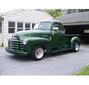 For Sale 1953 Chevy Pickup Step Side Short Bed Vin  H53B027486