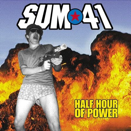 Kaset Sum 41 Half Hour Of Power sum 41 half hour of power cover bild foto fan lexikon