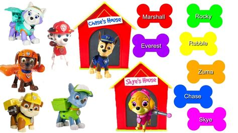 pup colors pup to learn books best learning colors for children match paw patrol
