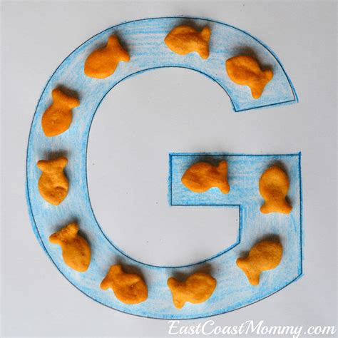 east coast mommy alphabet crafts letter g