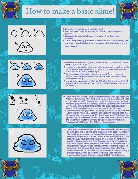 tutorial slime basic slime tutorial by lightwingednaruto on deviantart