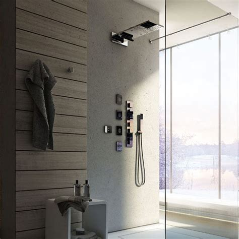 sistema doccia sistema doccia con cromoterapia calflex yes vendita