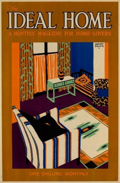 ideal home the alan mabey vintage poster archive