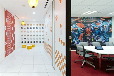 google tokyo office google japan s colorful office interior pics