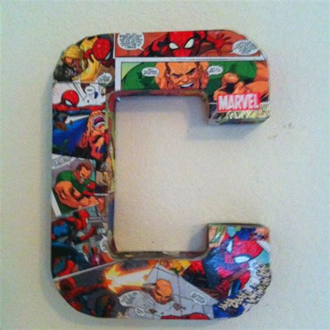 spiderman comic book    decoupage