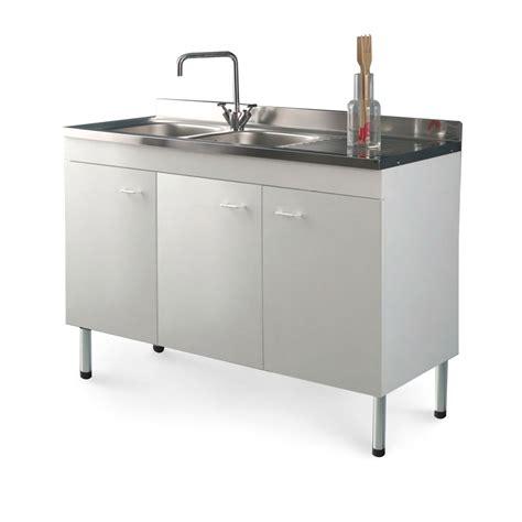 mobile lavello cucina acciaio cucina economica mobile bianco con lavello acciaio inox
