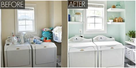 Vintage Bathroom Ideas by Organized Laundry Room Makeover Laundry Room Ideas
