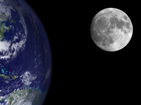 Planet earth from moon planet earth from the moon