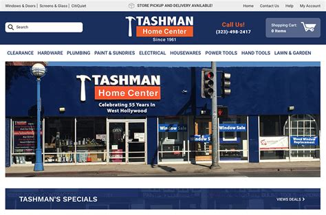 tashman home improvement store los angeles 2017 2018