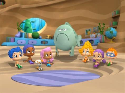bubble guppies good morning  grumpfish tv episode