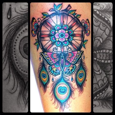 52 dreamcatcher tattoo ideas everyone has a story to tell