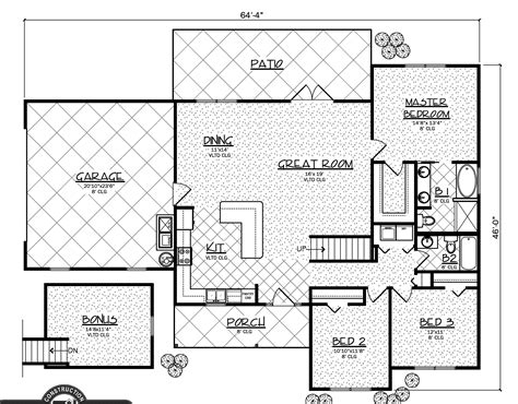 montana floor plans steve smith construction montana
