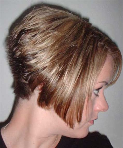 short super stacked hair style image gallery stacked haircut