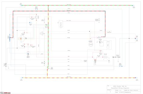 wiring diagrams of indian two wheelers team bhp