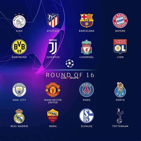 champions league     team ranking