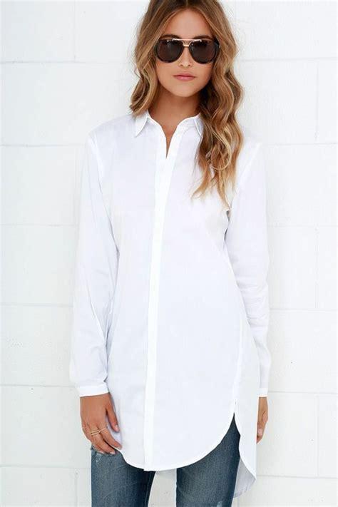 Oversize Hemd Damen by Wei 223 Es Hemd 36 Modelle Die Voll Im Trend Liegen