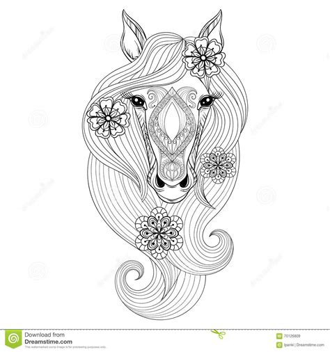 unicorn and flowers an coloring book featuring relaxing and beautiful unicorn coloring pages unicorn gifts for books vector coloring page with