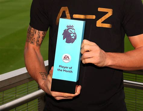epl november player of the month premier league player of the month nominees november