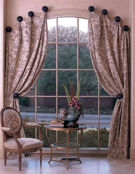 how to hang curtains on arched window o fallon il drapery edwardsville il drapery belleville