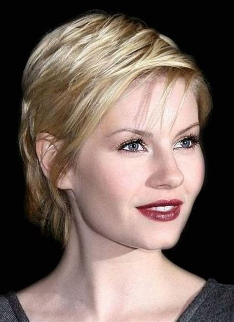 hairstyles for thin hair thin face 43 short hairstyles for round faces inspiration magment