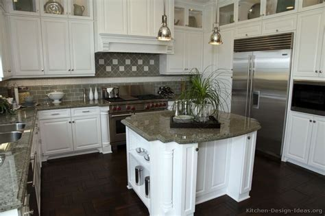 Images Of Kitchens With White Cabinets | pictures of kitchens traditional white kitchen