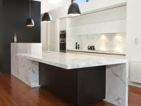 Island Kitchen Bench Designs by Modern Magnificence 80mm Thick Huge Marble Island 4700 X
