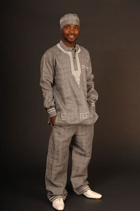men wear african dashiki matching trousers fashion pinterest ghana