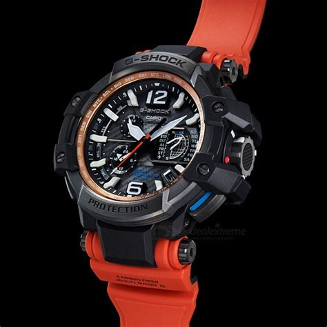 g shock gpw 1000 orange black casio g shock gpw 1000 4a solar powered 200 meter water