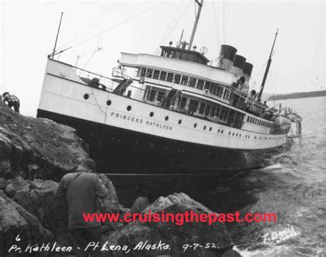 boat rs victoria the sinking of a princess cruising the past