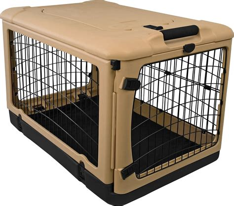 steel crate pet gear the other door steel crate fleece pad large chewy