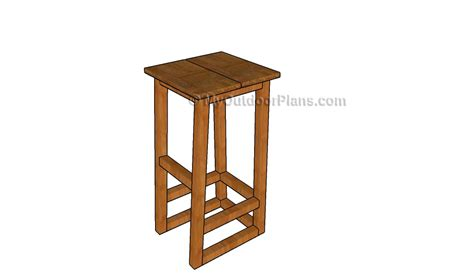 Bar Stools Plans by How To Build A Bar Stool Myoutdoorplans Free