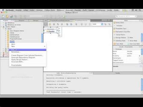 Tutorial Easy Uml Netbeans | tutorial uml netbeans engenharia reversa e direta youtube