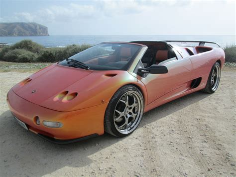 Lamborghini Diablo Vt Roadster For Sale Lamborghini Diablo Vt Roadster For Sale In Javea Spain