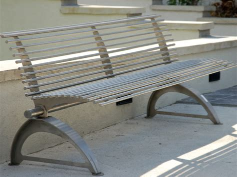 steel park benches stainless steel park bench 171 bc site service