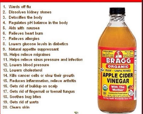 Low Energy At Beginning Of Apple Cider Vinegar Detox by Bragg Apple Cider Vinegar Benefits This Is The Brand Of