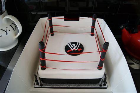 gs cakes wrestling ring cake