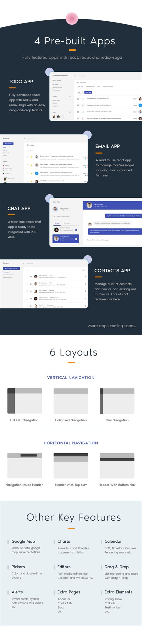 Jumbo React React Redux Material Bootstrap Admin Template By G Axon React Chat Template