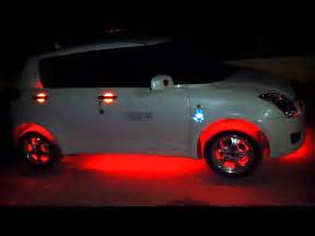 Car Lighting India Car Modified With Lights By Punjabi Boys From