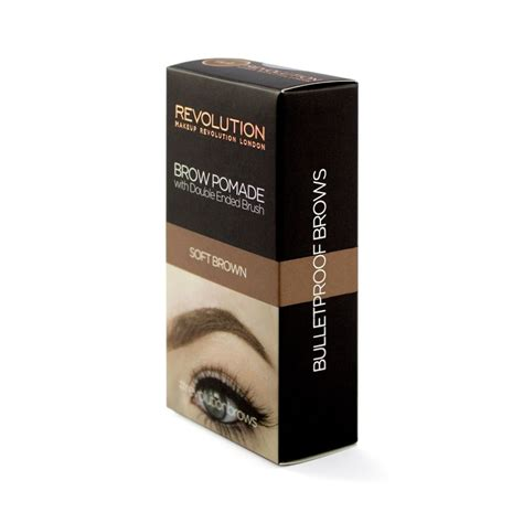 Makeup Za makeup revolution gel za obrve brow pomade soft brown