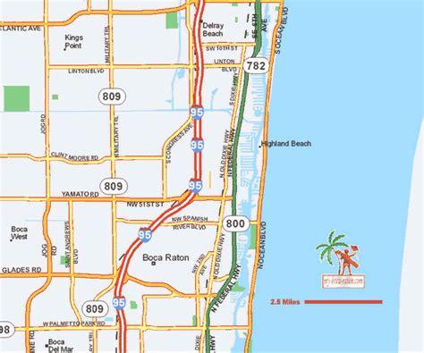 boca raton map maps of boca raton