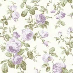 wow shabby chic lilac purple rose vintage floral wallpaper cream wallpaper vintage