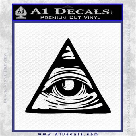 Illuminati Triangle Meme - all seeing eye nwo illuminati d3 decal sticker 187 a1 decals