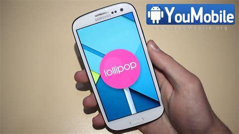 Samsung S3 Lollipop samsung galaxy s3 android 5 0 lollipop update has been