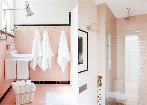 pink and white bathroom 15 amazing pink tiled bathrooms apartment number 4